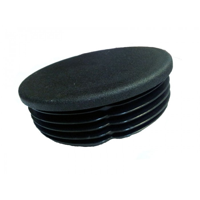 Крышка круглая пластиковая для столбов