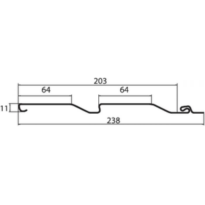 Размеры сайдинг панели