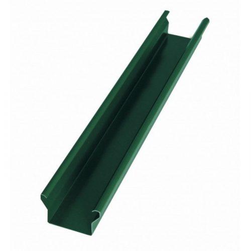 Стойка зелёная для модульного забора