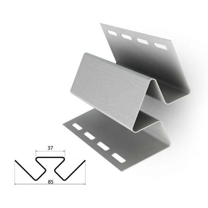 Уголок внутренний белый для отделки сайдингом