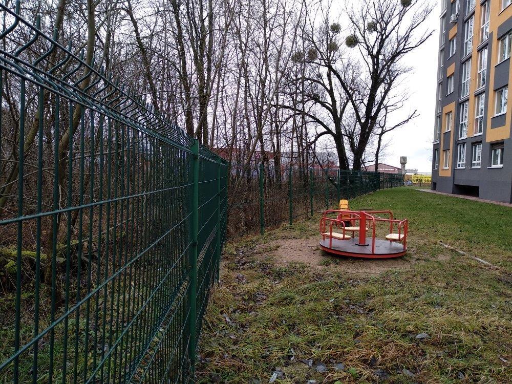 Забор ул. Гагарина напротив Мираторга