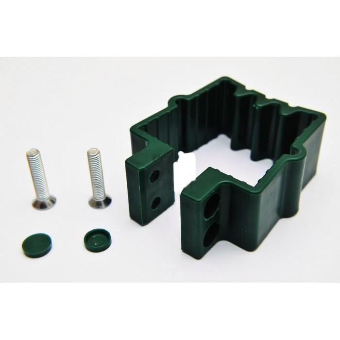 Крепление пластиковое для панельного забора