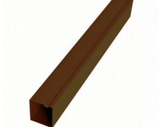 Столб коричневый